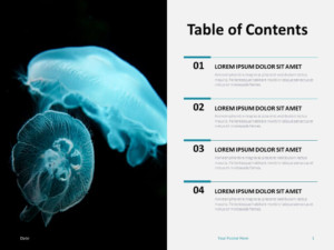 Free Table Contents for PowerPoint