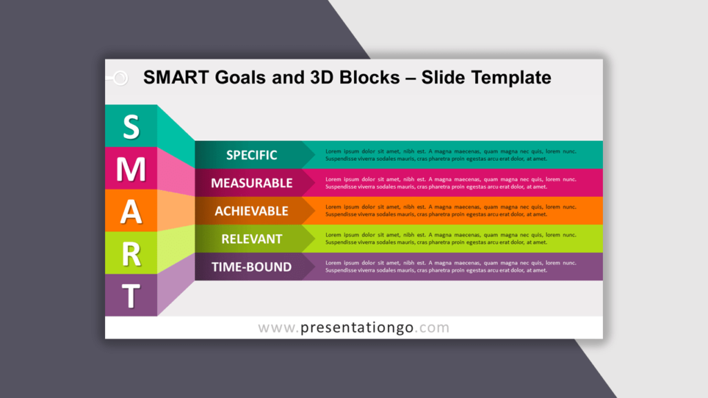 SMART Goals for PowerPoint - Best Business Model