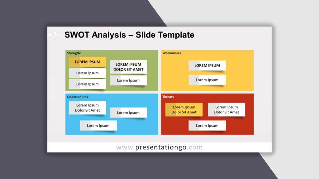 SWOT Analysis for PowerPoint - Best Business Model
