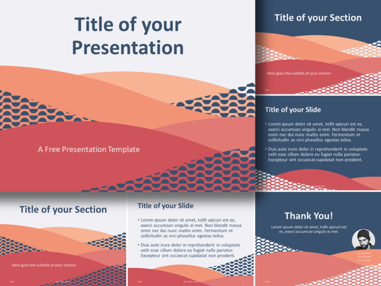 Free Tuscany Template for PowerPoint and Google Slides