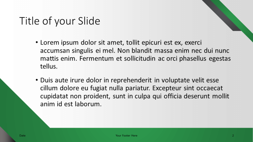 Free Energy Template for Google Slides – Title and Content Slide (Variant 1)