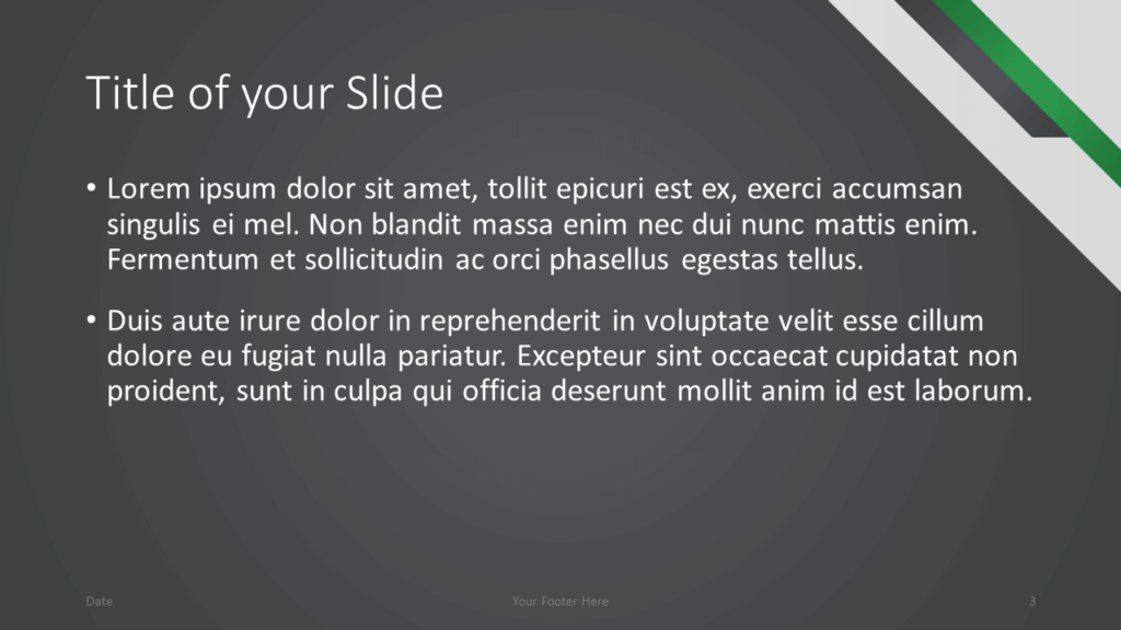Free Energy Template for Google Slides – Title and Content Slide (Variant 2)