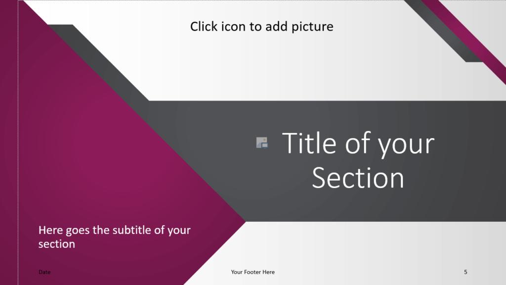Free Energy Template for Google Slides – Section Slide (Variant 2)