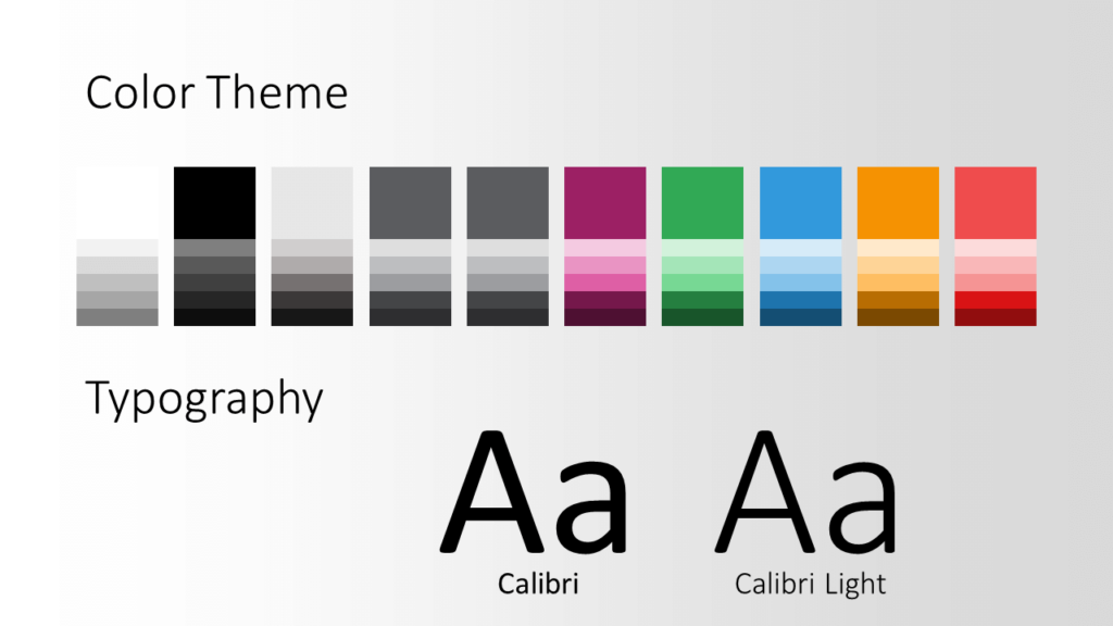 Free Energy Template for Google Slides – Colors and Fonts