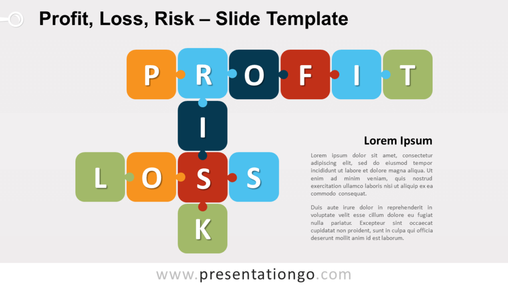 Free Profit, Loss, and Risk for PowerPoint and Google Slides