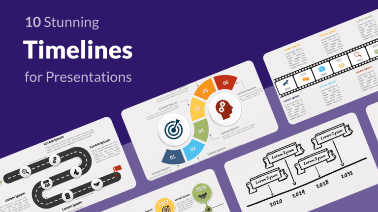 10 Stunning Timelines For PowerPoint Presentations