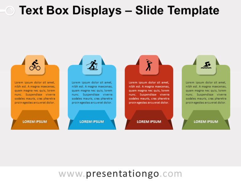 Free Text Box Displays for PowerPoint
