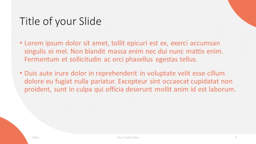 Free Lens Template for Google Slides – Title and Content Slide (Variant 2)