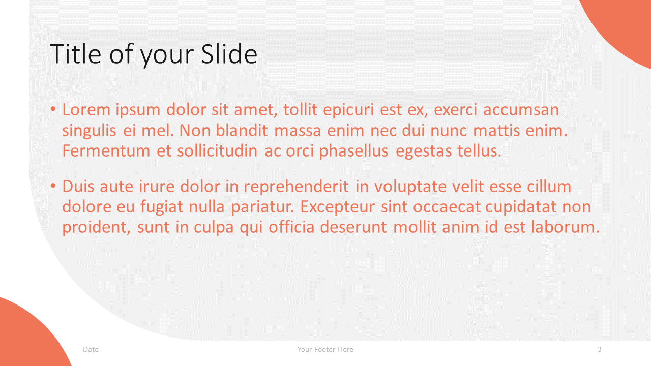 Free Lens Template for Google Slides – Title and Content Slide (Variant 2)