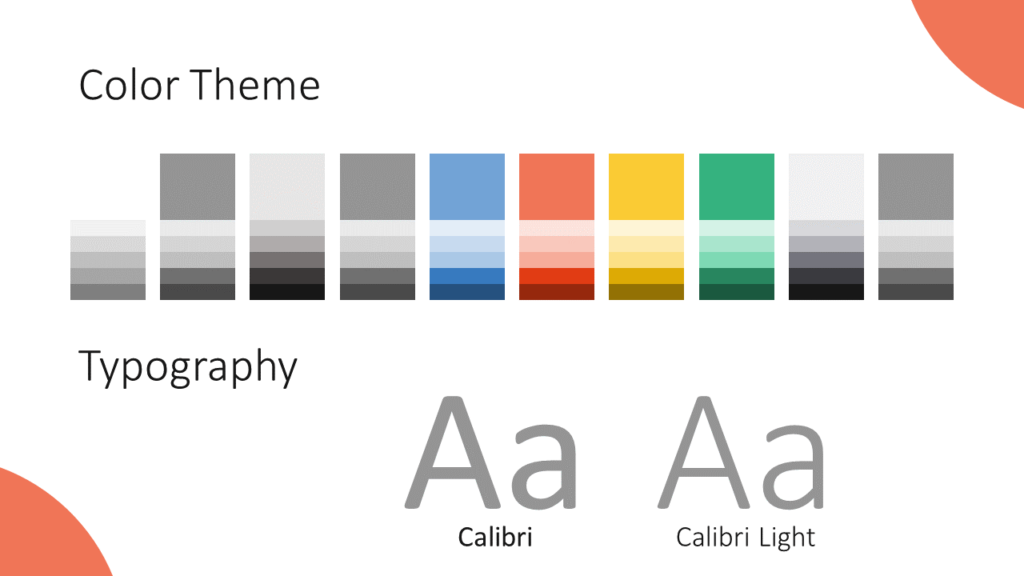Free Lens Template for Google Slides – Colors and Fonts