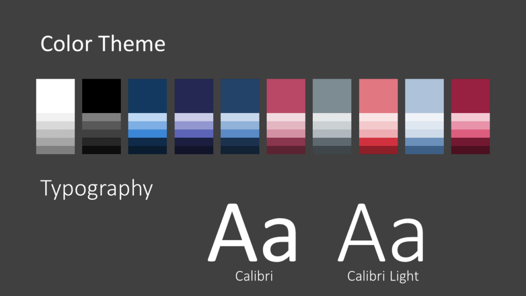 Free Twisted Strip Template for Google Slides – Colors and Fonts