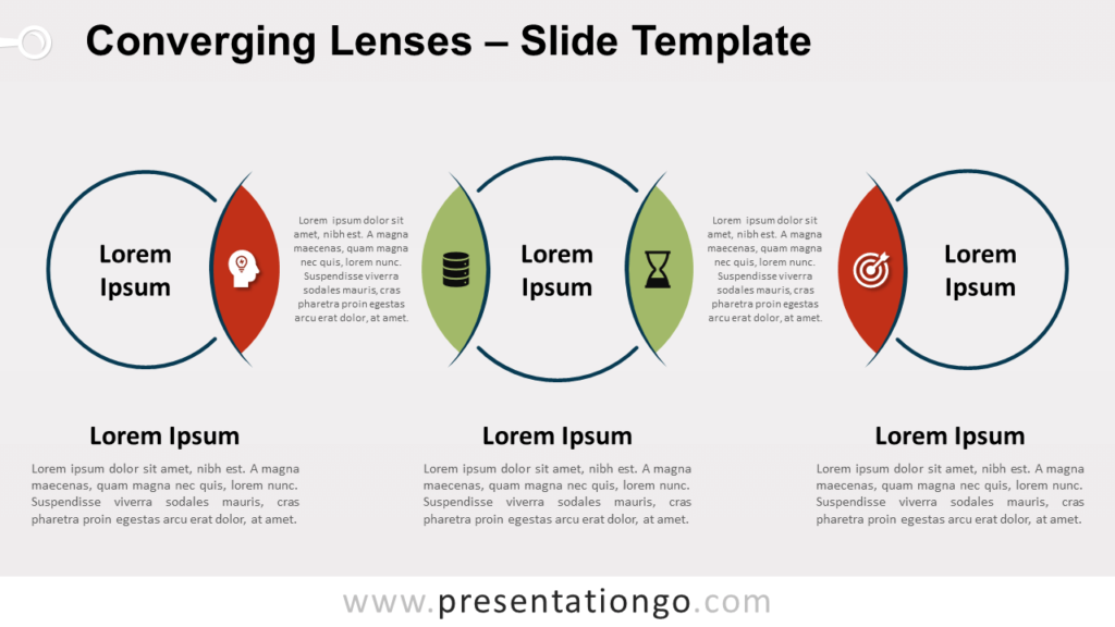 Free Converging Lenses for PowerPoint and Google Slides