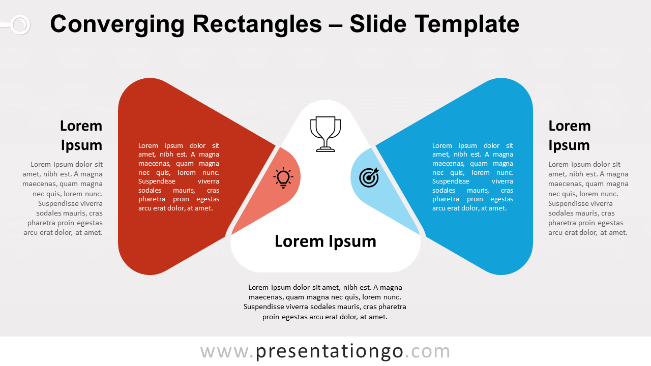 Free Converging Triangles for PowerPoint and Google Slides