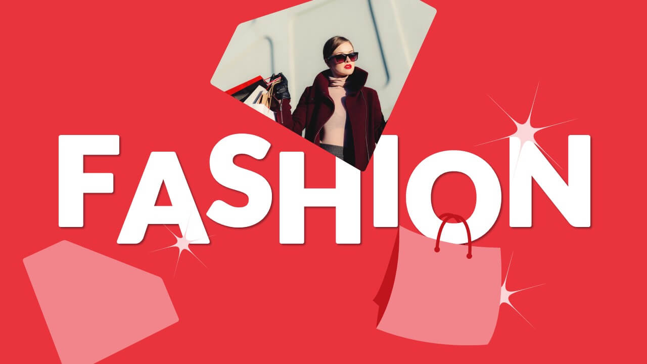 Free FASHION Template for Google Slides - Cover Slide