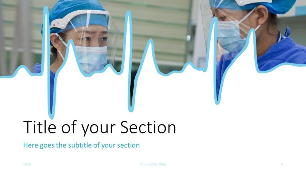 Free DOCTOR Template for Google Slides – Section Slide (Variant 1)