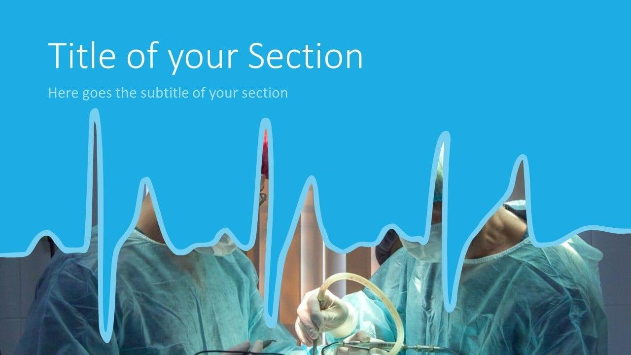 Free DOCTOR Template for Google Slides – Section Slide (Variant 2)
