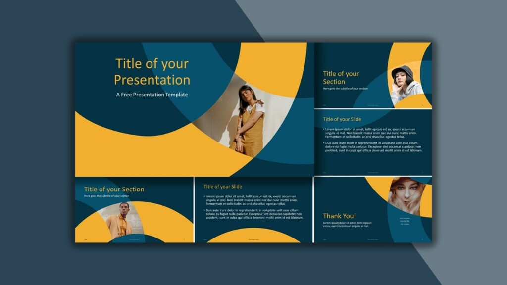 Free Golden Ring Google Slides Theme and PowerPoint Template