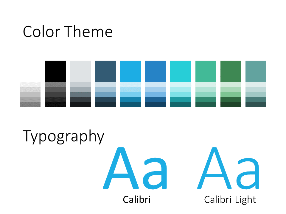 Free DOCTOR Template for PowerPoint – Colors and Fonts