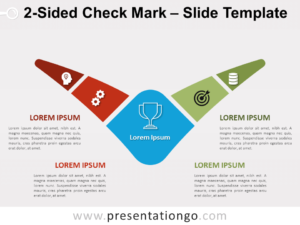 Free 2-Sided Check Mark for PowerPoint