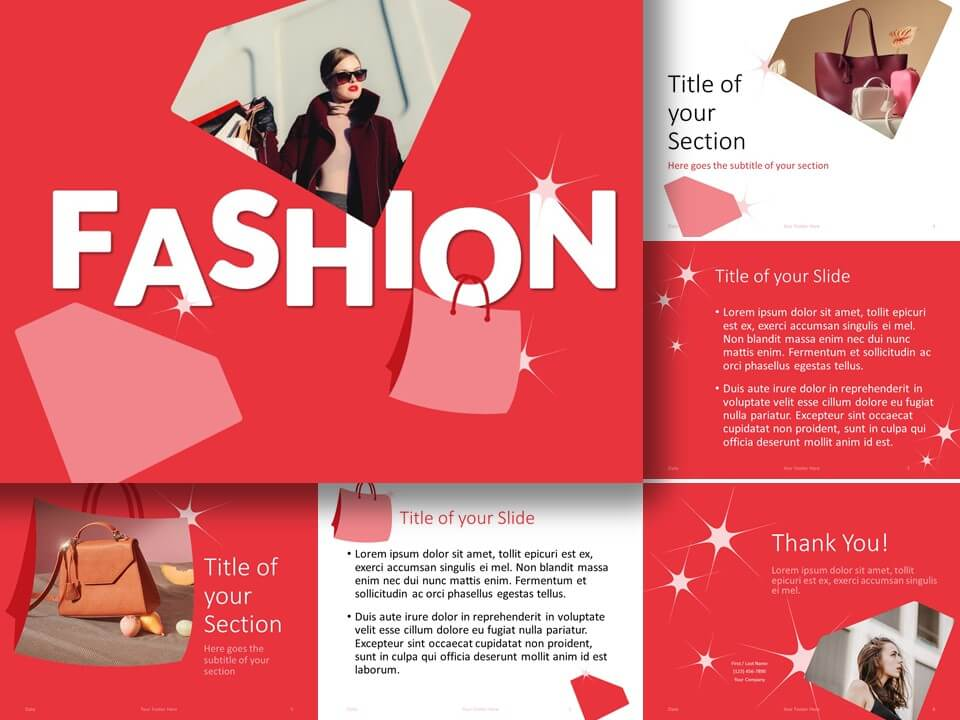 Free FASHION Template for PowerPoint and Google Slides