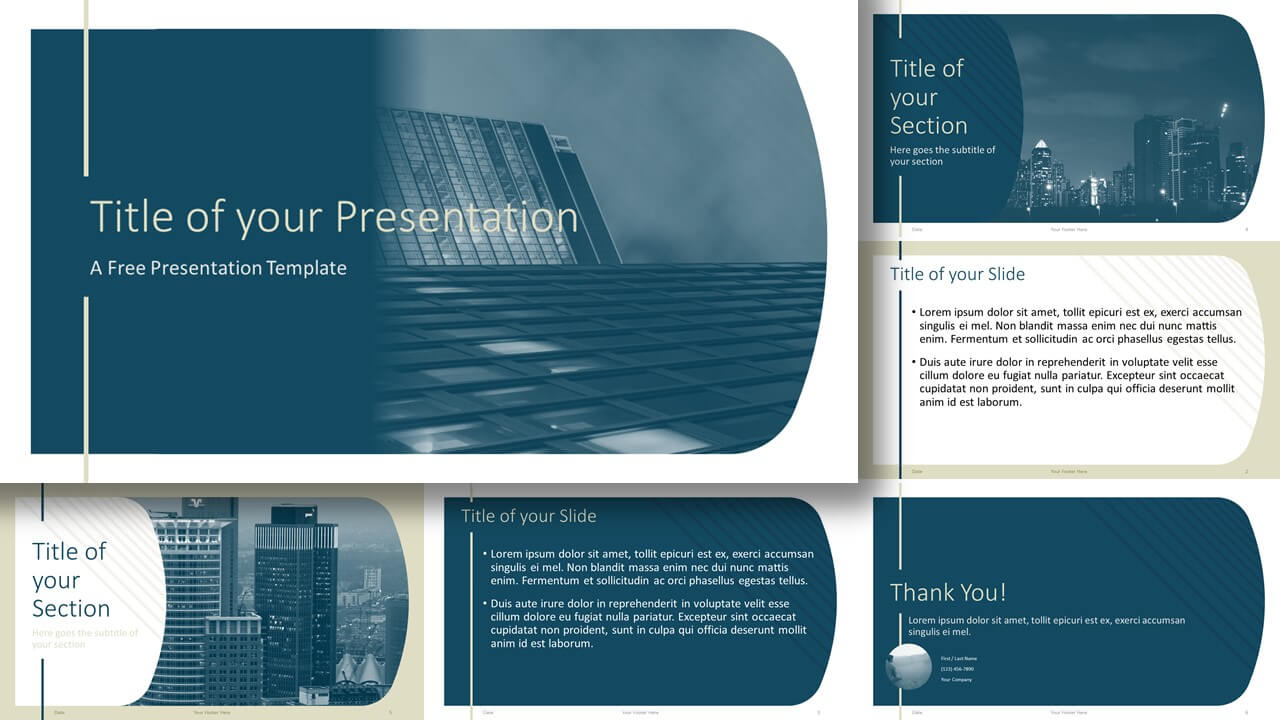 Free IMPERIAL Template for Google Slides and PowerPoint