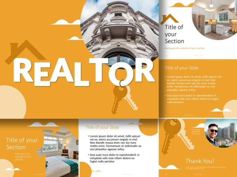 Free REALTOR Template for PowerPoint and Google Slides