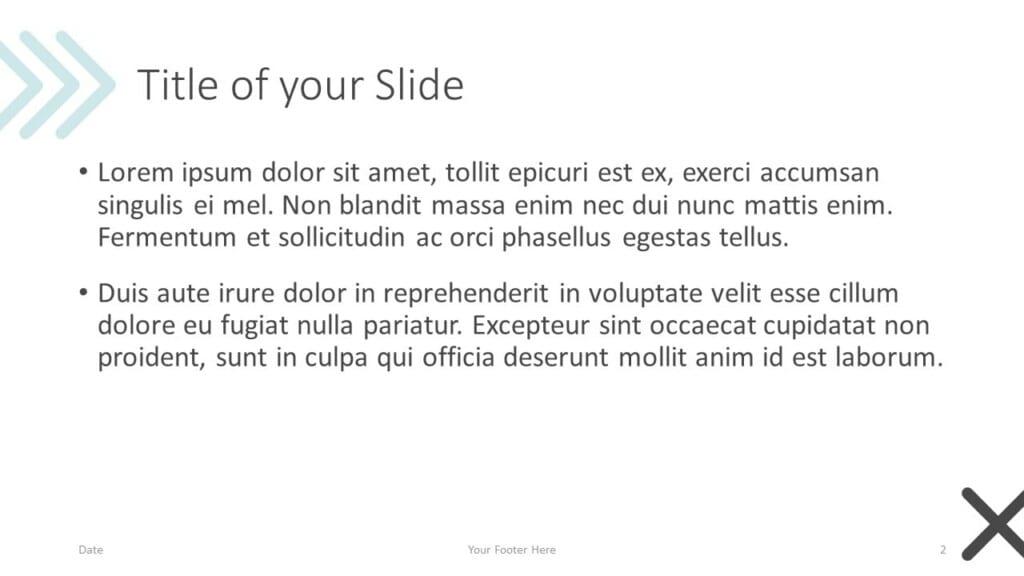Free Concert Template for Google Slides – Title and Content Slide (Variant 1)