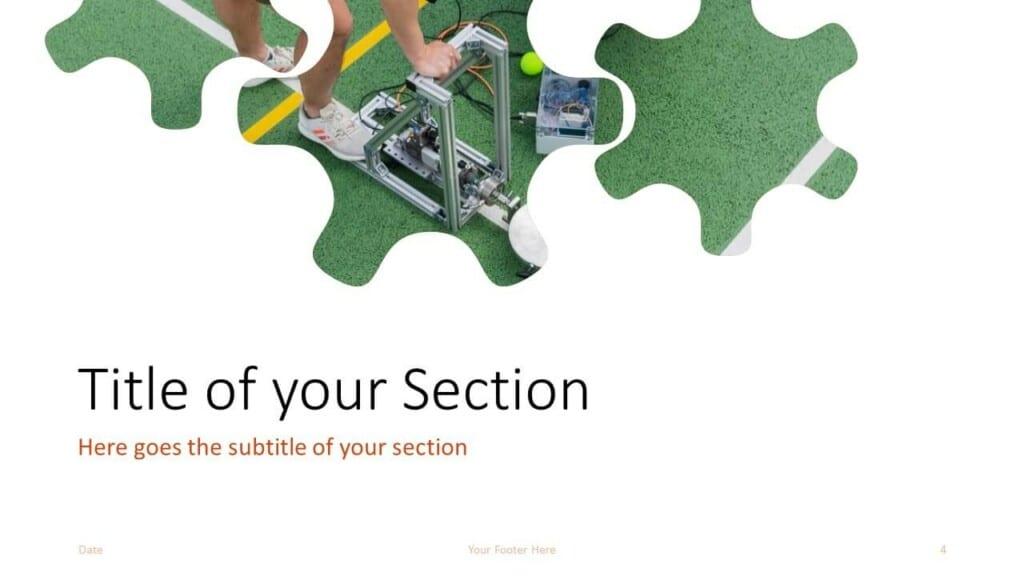 Free ENGINEER Template for Google Slides – Section Slide (Variant 1)