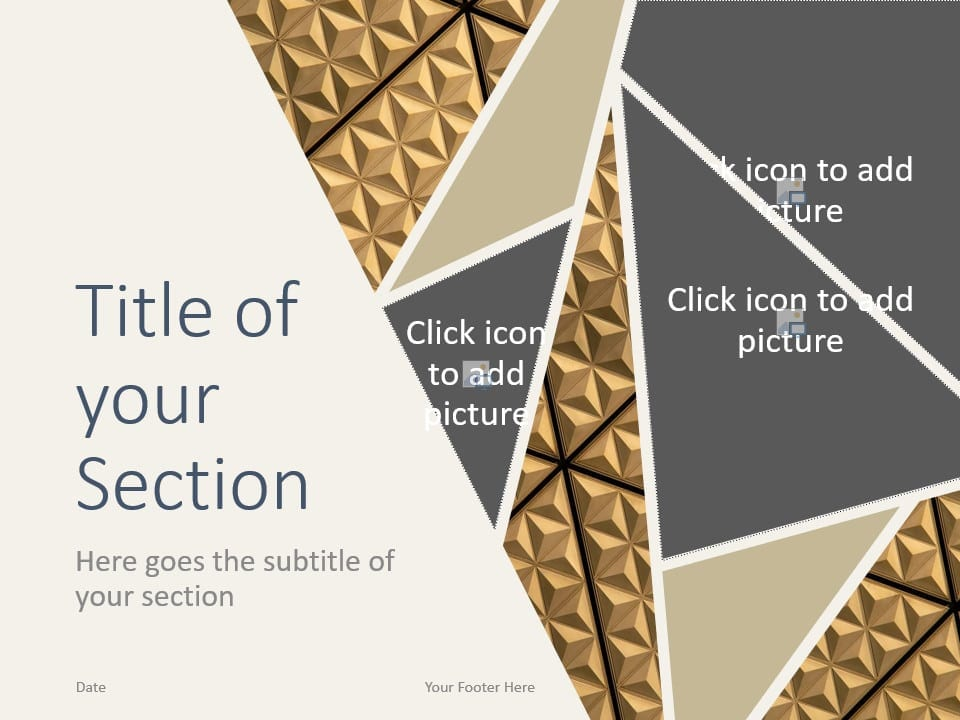 Free Deluxe Template for PowerPoint – Section Slide (Variant 2)