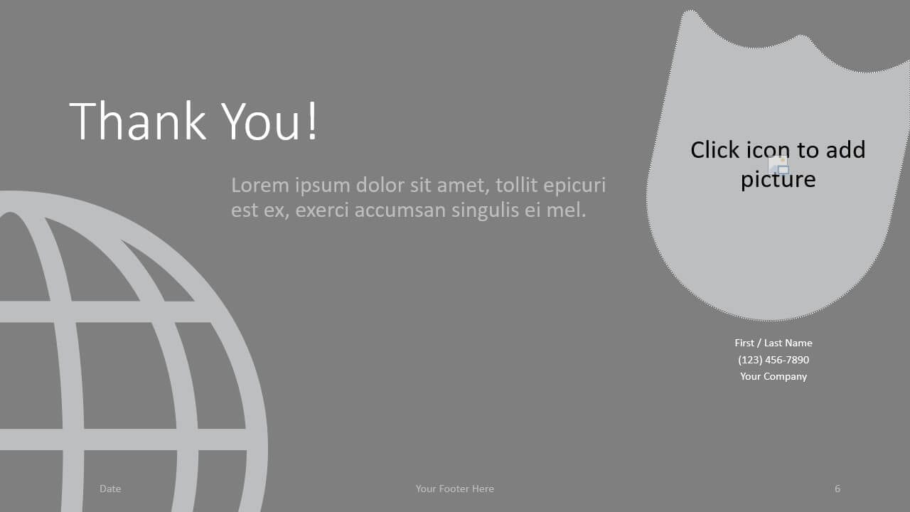 Free SECURITY Template for Google Slides - Closing / Thank you