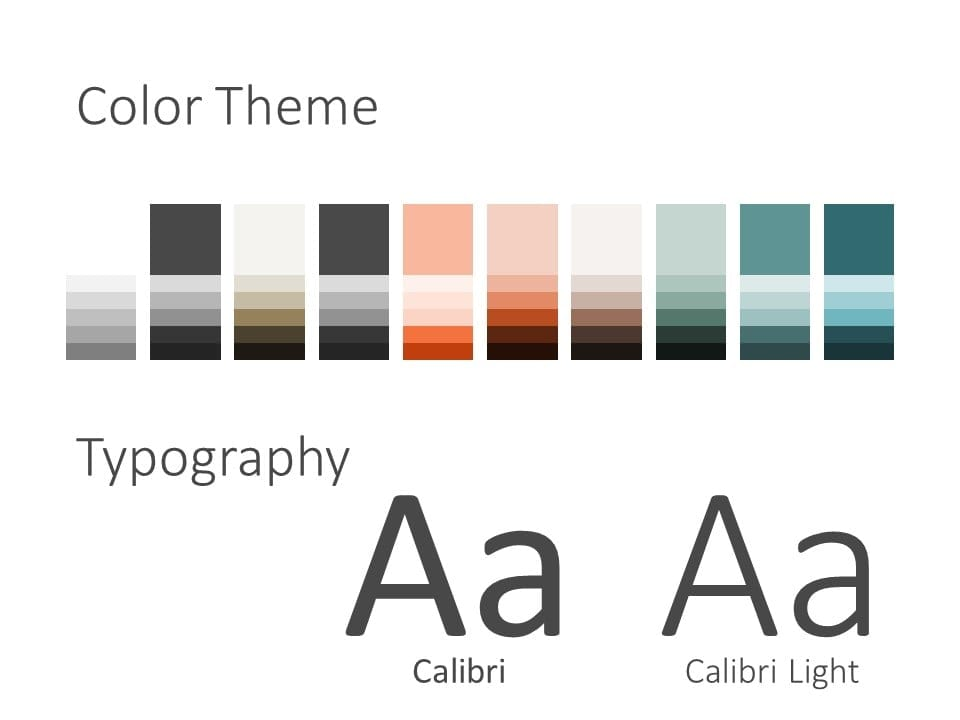 Free Concert Template for PowerPoint – Colors and Fonts