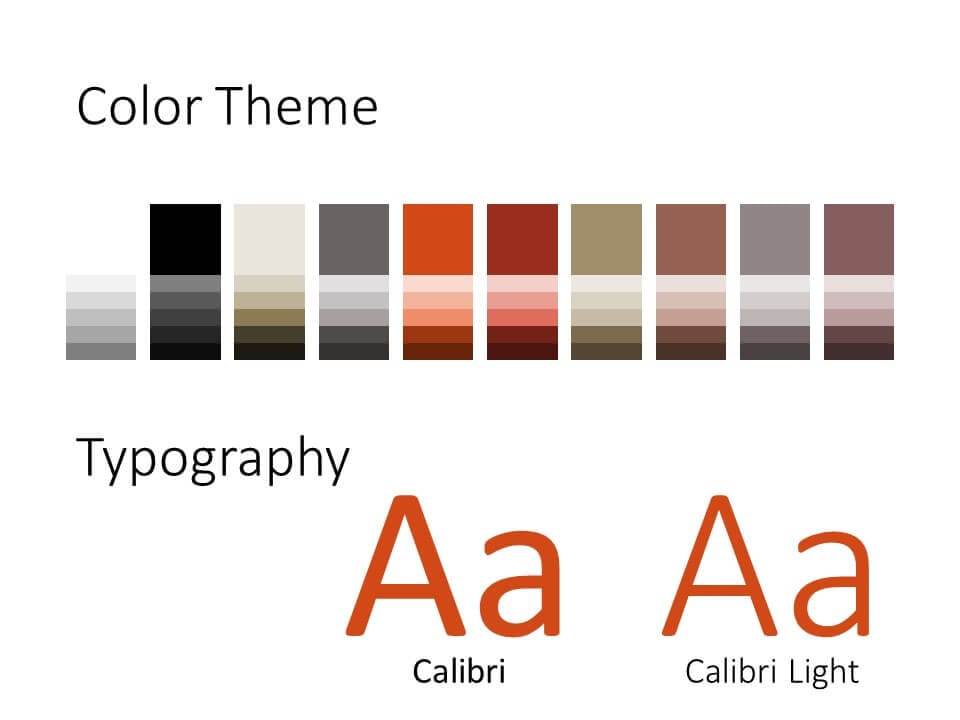 Free ENGINEER Template for PowerPoint – Colors and Fonts