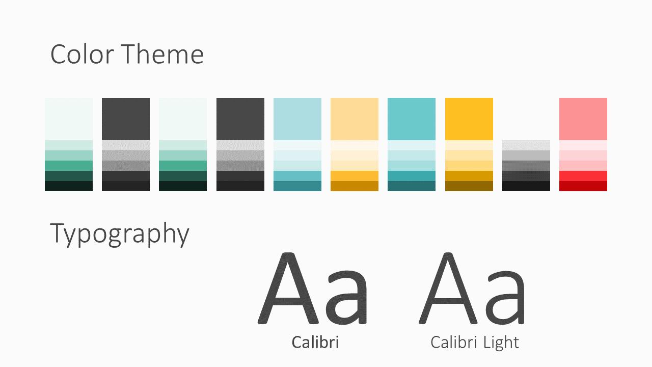 Free Framed Pastel Template for Google Slides – Colors and Fonts