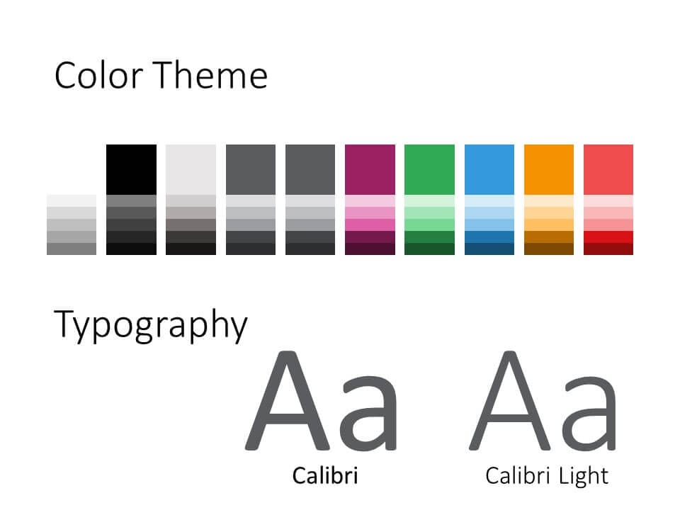 Free SECURITY Template for PowerPoint – Colors and Fonts
