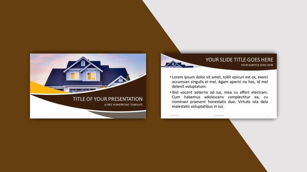 Brown Template for your PowerPoint Presentation