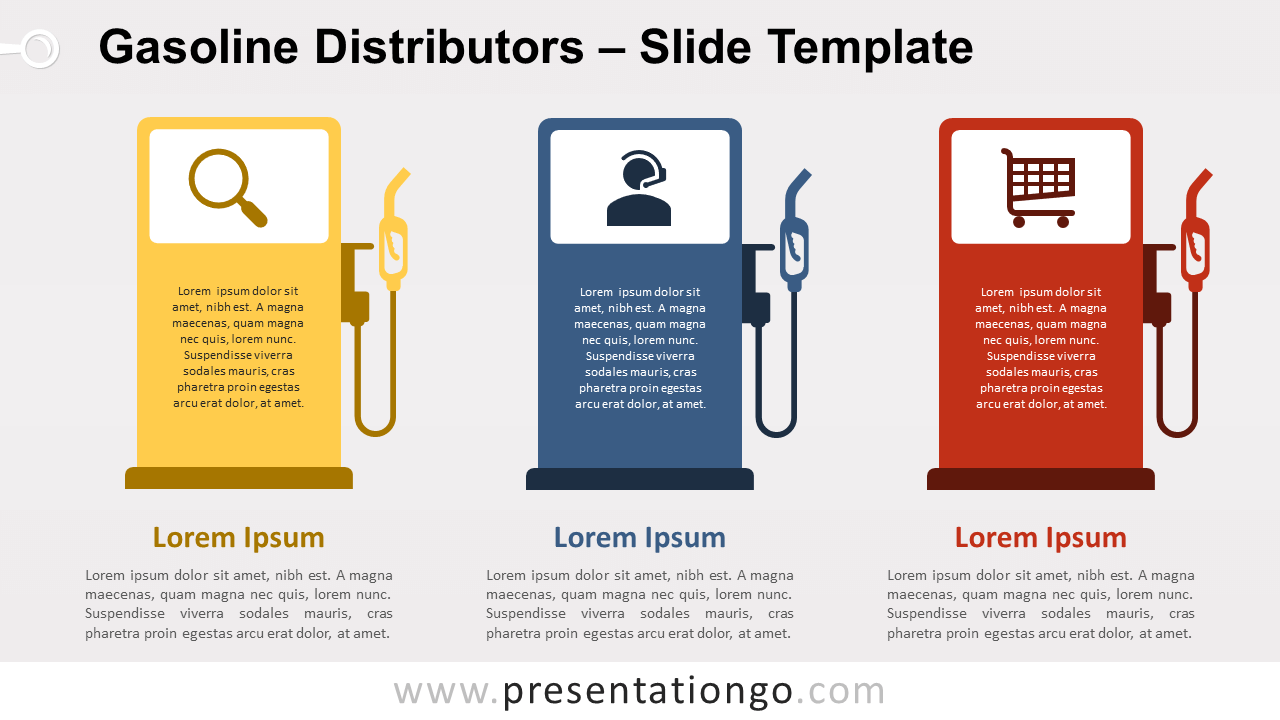 Free Gasoline Distributors Template for PowerPoint and Google Slides