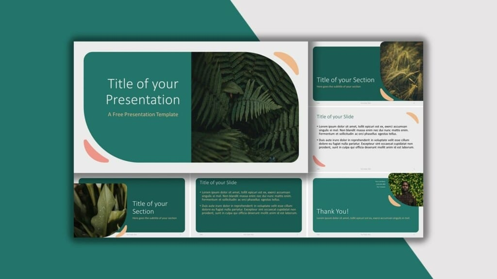 Green Template for your PowerPoint Presentation