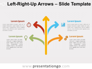 Free Left-Right-Up Arrows for PowerPoint