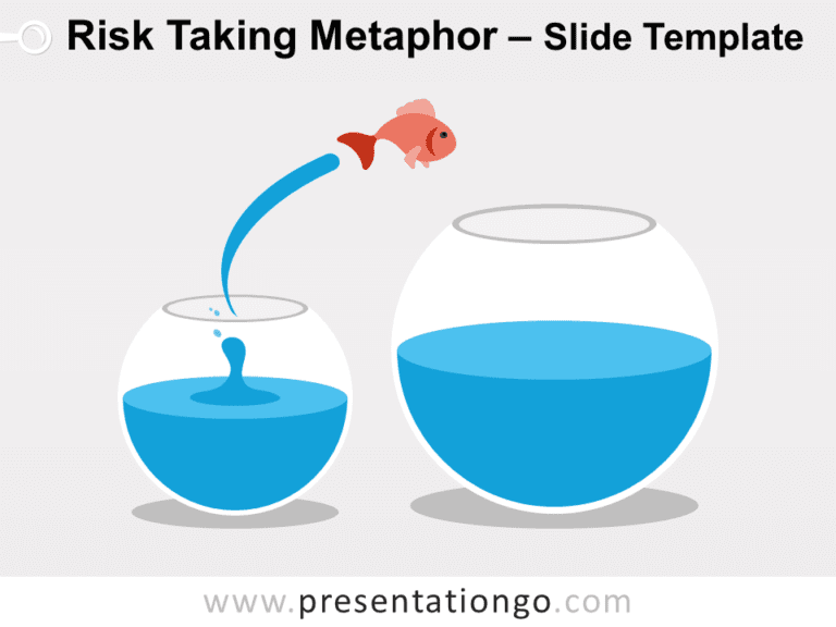 Free Risk Taking Metaphor for PowerPoint
