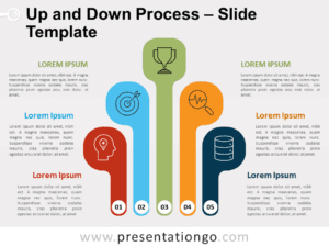 Free Up and Down Process for PowerPoint