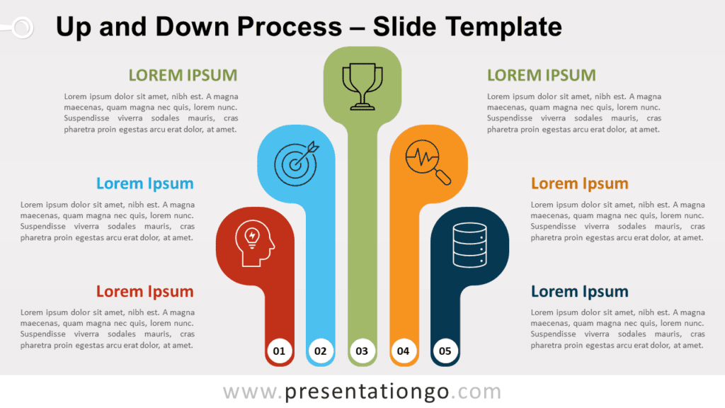 Free Up and Down Process for PowerPoint and Google Slides