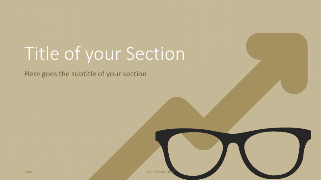 Free BUSINESS Template for Google Slides – Section Slide (Variant 2)