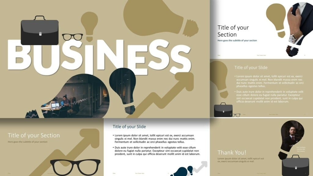 Free BUSINESS Template for Google Slides and PowerPoint