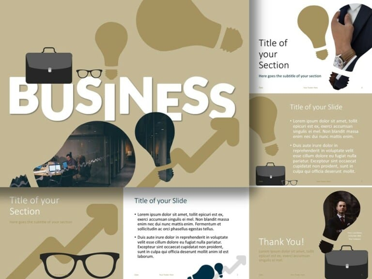 Free BUSINESS Template for PowerPoint and Google Slides