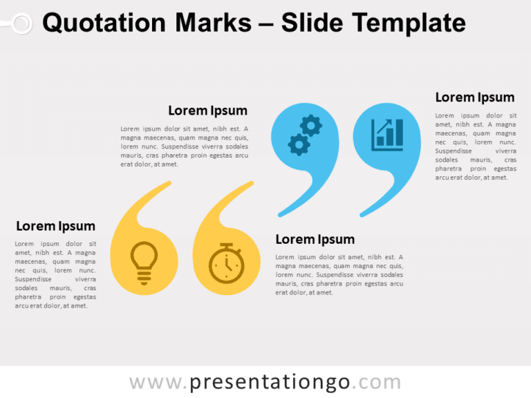 Free Quotation Marks for PowerPoint
