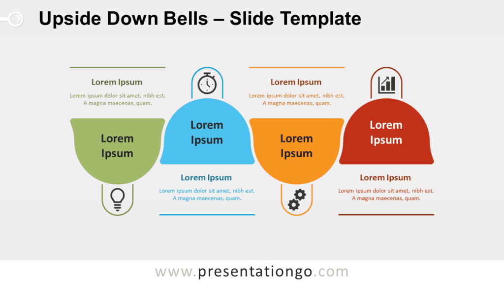 Free Upside Down Bells for PowerPoint and Google Slides