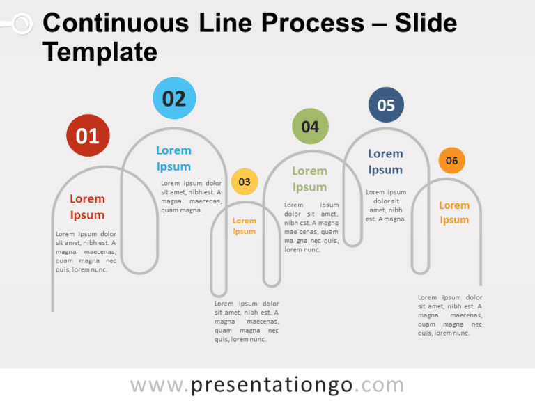 Free Continuous Line Process for PowerPoint