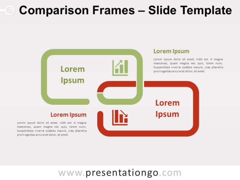 Free Comparison Frames for PowerPoint