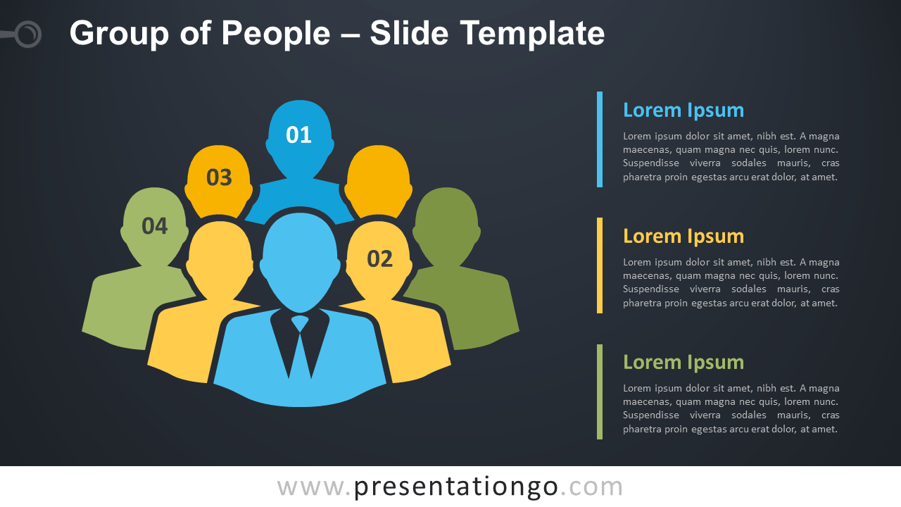 Free Group of People Graphics for PowerPoint and Google Slides
