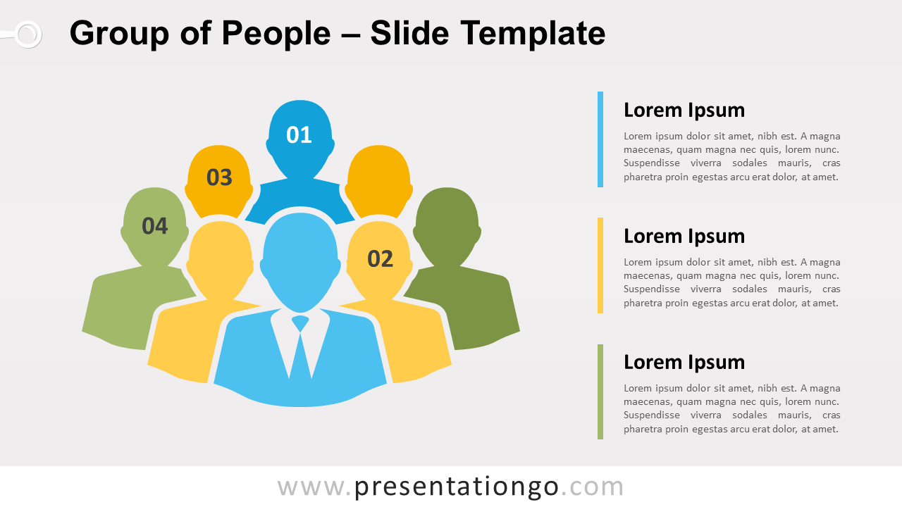 Free Group People for PowerPoint and Google Slides